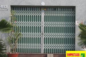 Cửa kéo tôn màu Đài Loan 7 dem